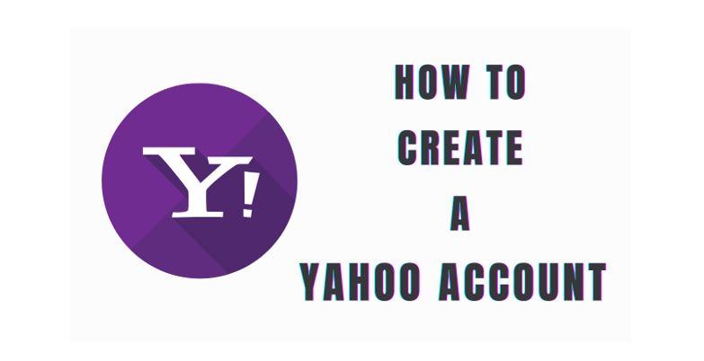 create a yahoo account
